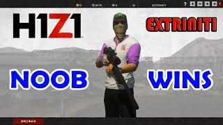 H1Z1 NOOB WINS Battle Royale PC Diamond Tier Gameplay (like PUBG)