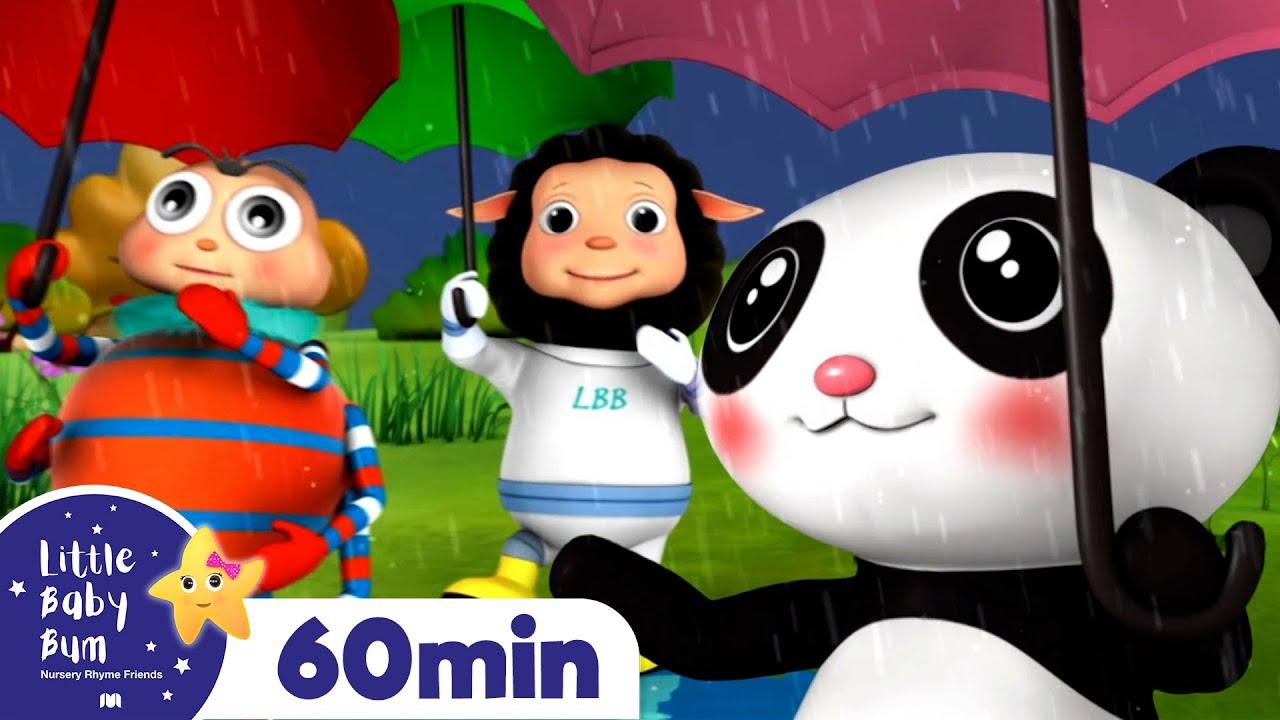 Rain Rain Go Away +More Nursery Rhymes and Kids Songs   Little Baby Bum