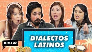 Dímelo: ¿Qué dijo?...Español por favor- Latinos intentan descifrar nuestros dialectos