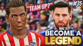 """ROAD TO BECOME A LEGEND! PES 2019 #35 """"LIONEL MESSI WANTS MANNY BARCA MOVE?!"""""""