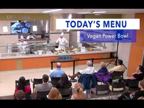 UK HealthCare Chandler Dining presents Chef's in Action - Vegan Power Bowl