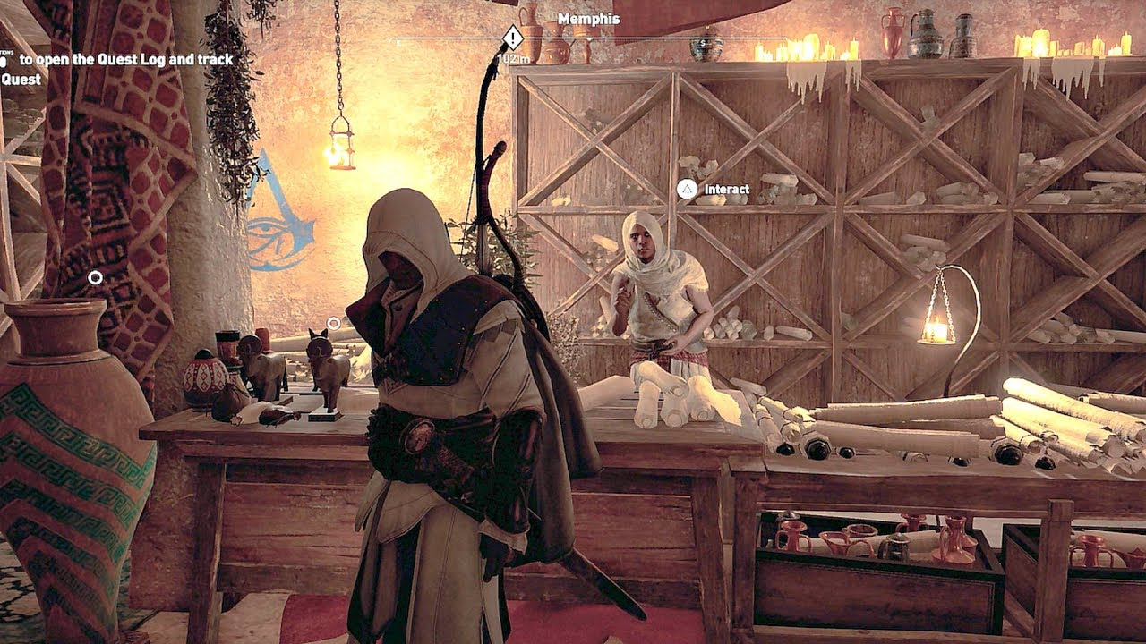 assassin 39 s creed origins bureau of the hidden ones
