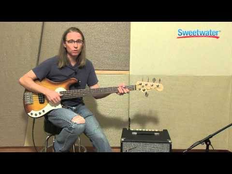 Fender Rumble 100 Bass Amplifier Demo - Sweetwater Sound