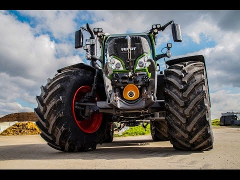 New Fendt 724 Vario S4 Nature Green / Trailer  *[Full HD]*
