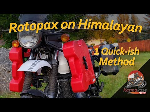 A Rotopax Fuel Can Install Method: Holding After 2,000 Miles!