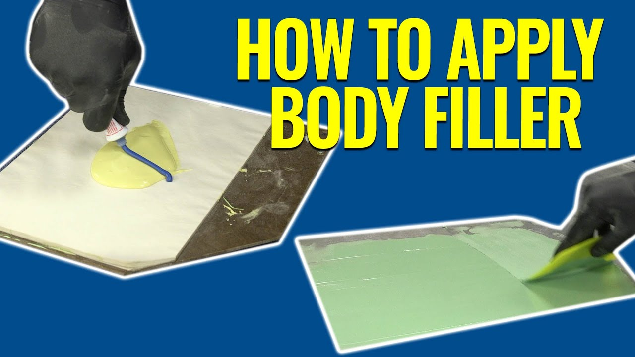 Beginners Guide to Applying Body Filler - How to Apply Contour Premium Body  Filler - Eastwood