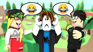 THAT'S HOW THEY TREAT NEW PEOPLE IN ROBLOX