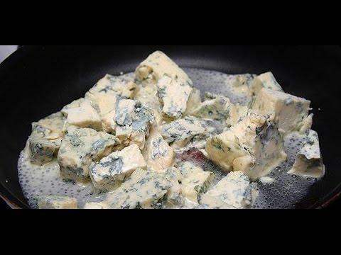 Сыр Дорблю с голубой плесенью , как приготовить в домашних .