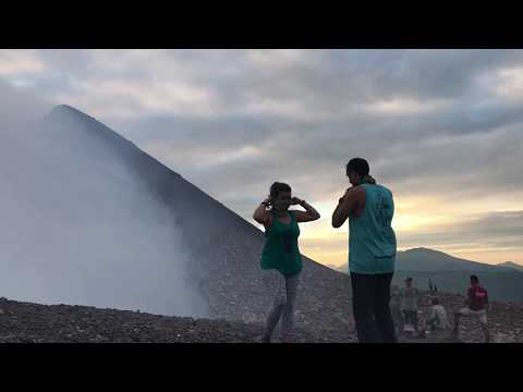 Volcano hiking and city exploring in Leon, Nicaragua