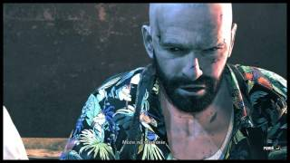 Max Payne 3 GAMEPLAY PL  chapter 7 MAX DETAIL 4K DSR