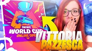 VITTORIA REALE EPICA NEL TORNEO *WORLD CUP* | Fortnite