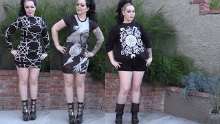 ►House of Black and White!! 3 Outfits 1 Video! Featuring Long Clothing!!