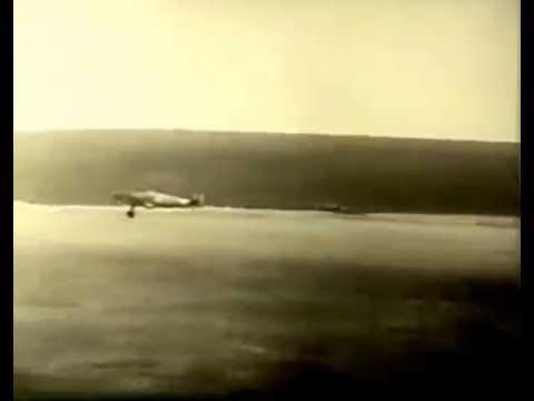 Romanian Air Force Bf 109E of Grupul 7 landing
