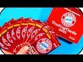 FC Bayern Munich ★ Trading Card Game Unboxing 2018 | Pack Opening