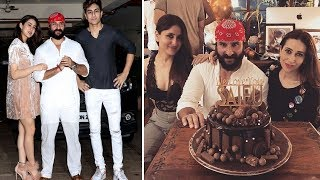 Saif Ali Khans Birthday Bash | Saif Ali Khan Latest Interview 2018