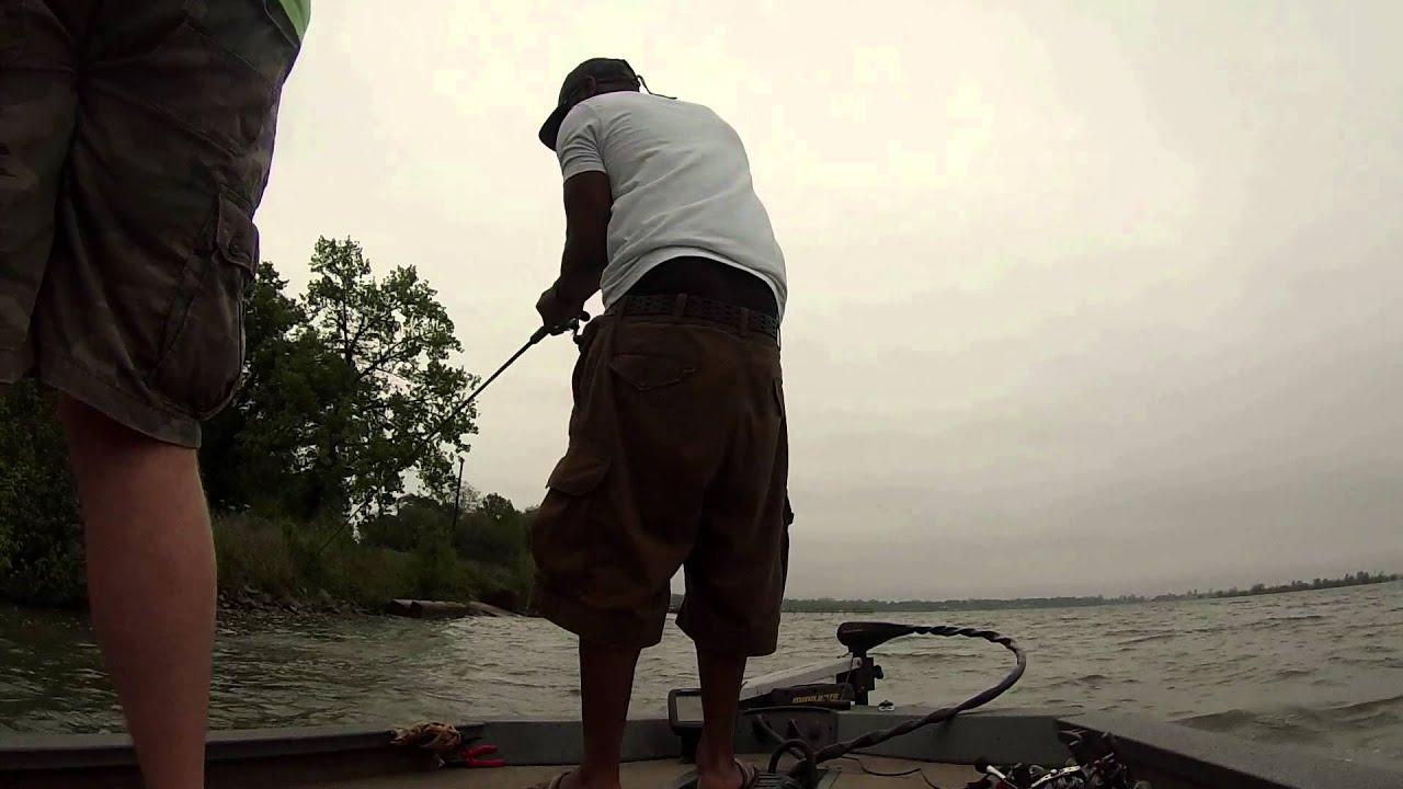 Bass Fishing On Eagle Lake Youtube
