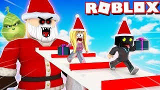 SANTA IS CHASING US! Roblox [English/HD]