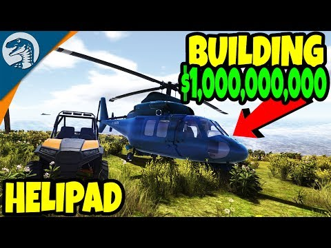 BUILDING MANSION HELIPAD & HEAVY CONSTRUCTION | Machine World 2 Gameplay