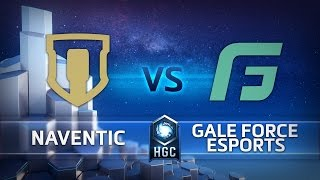 hgc na phase 1 part 2 game 1 team naventic v gale force esports