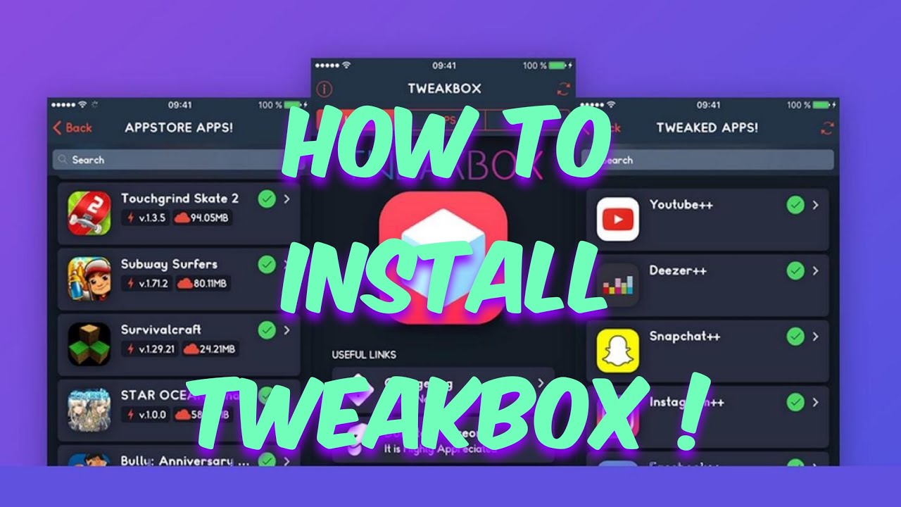 How To Install TweakBox On iOS 12 (NO JAILBREAK 100% WORKING 2019) Cydia  Apps, ++Apps & Hacked Apps