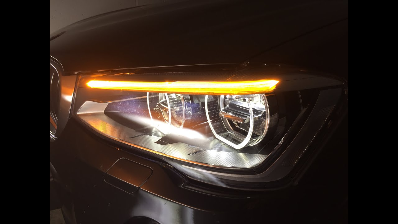 BMW X3 F25 Facelift Adaptive LED