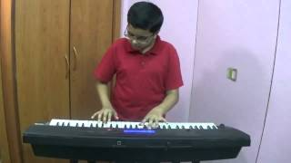 Taaron Mein Sajke - Old Hindi Song played on Keyboard by Dishant Vyas
