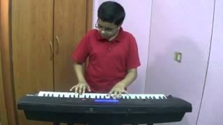 Taaron Mein Sajke - Old Hindi Song played on Keyboard by Dishant Vyas