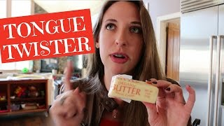 TONGUE TWISTER Betty Botter Bought Some Butter VEDA Day 25 SSSVEDA