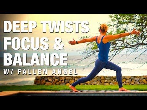 Deep Twists, Focus & Balance w/ Fallen Angel Yoga Class - Five Parks Yoga