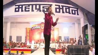 Kamal Sethia`s perfomance at Acharya Shree Bikshu Samadhai Sathal, Siyari....