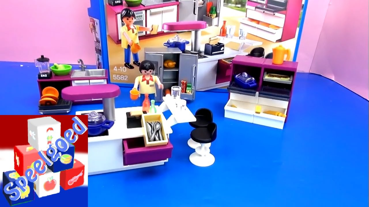 Playmobil keuken demo opbouw en review van de playmobil for Playmobil haus schlafzimmer