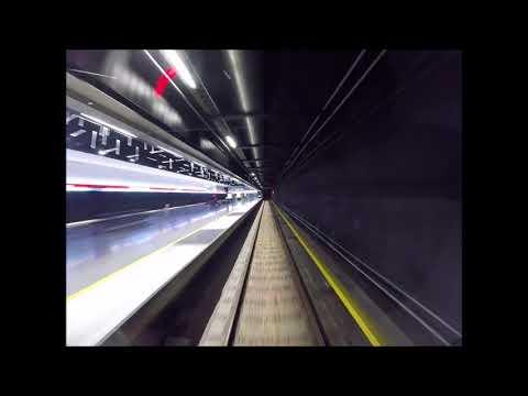 Helsinki metro/Länsimetro. Ohjaamovideo. Matinkylä-Vuosaari. Itäkeskus-Mellunmäki.