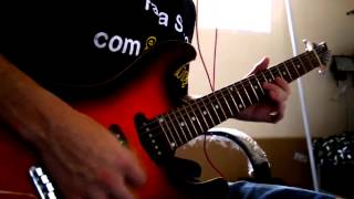 Nightwish - The Siren - Guitar cover