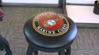 Military & College Logo Bar Stools & Tables | OfficeChairs.com