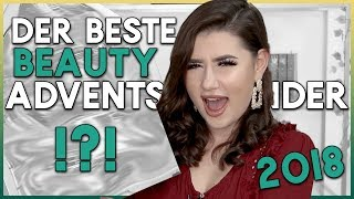 Der BESTE Beauty Adventskalender 2018 | Sara Bow