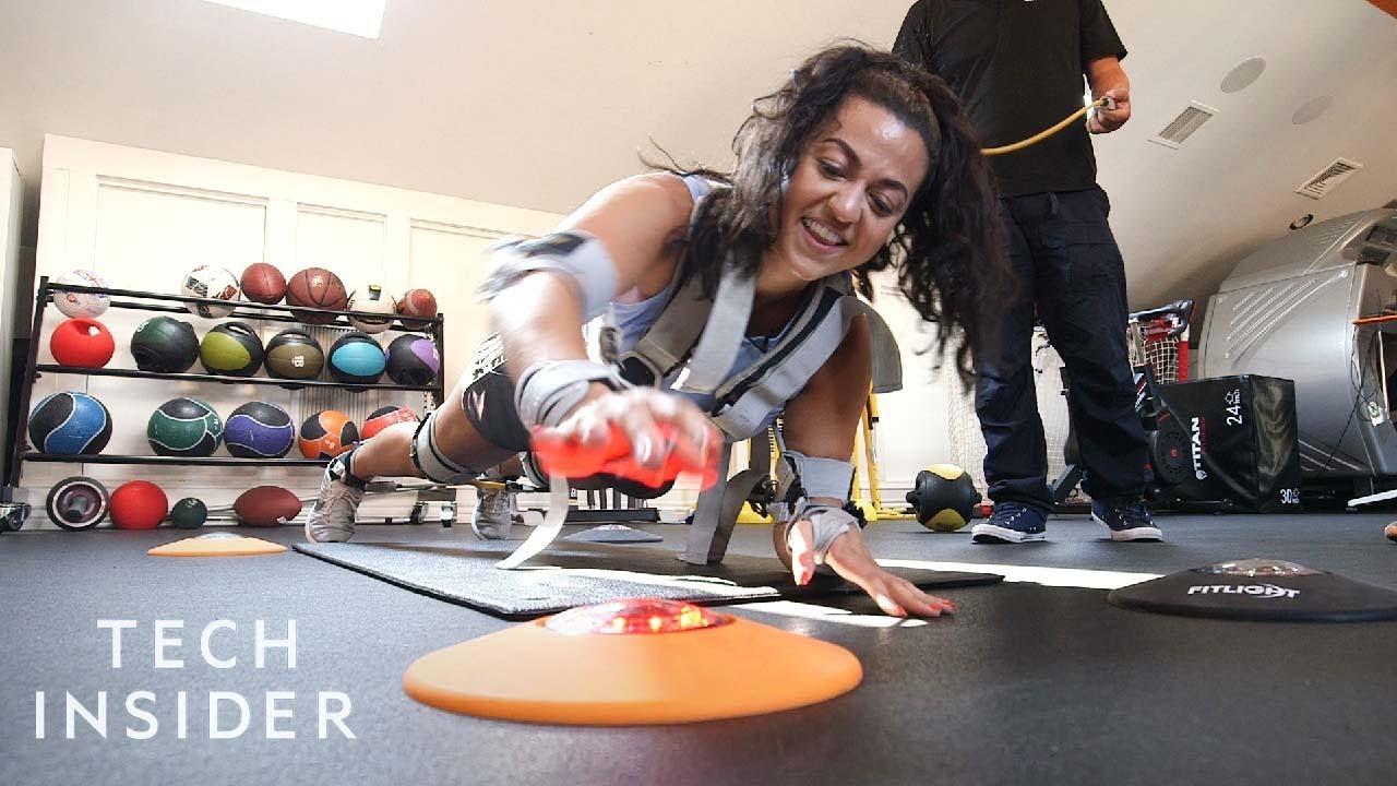 High-Tech Sports Lab Helps Athletes Improve Performance