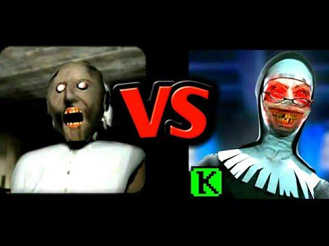 Evil Nun VS Granny | Horror Gameplay Comparison ( Android ...  Evil Nun VS Gra...