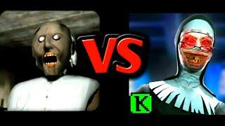 Evil Nun VS Granny | Horror Gameplay Comparison ( Android - IOS )