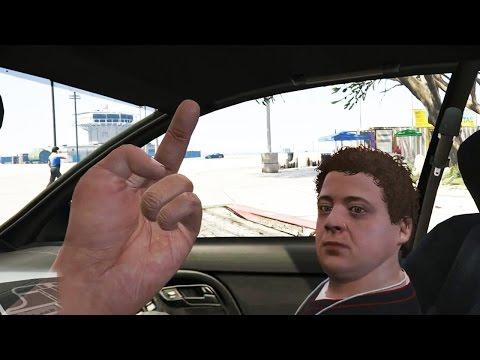 Мэддисон играет в GTA 5 от первого лица #1