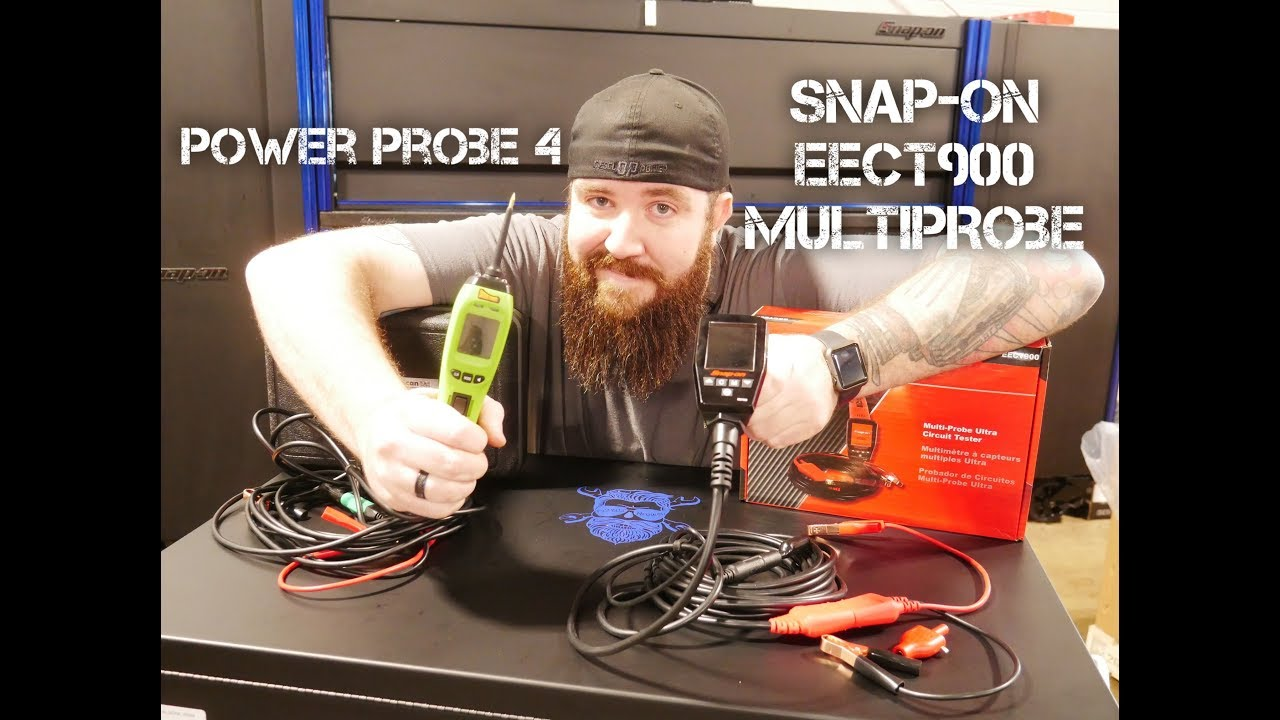 POWER PROBE 4 & SNAPON EECT900 COMPARISON AND REVIEW