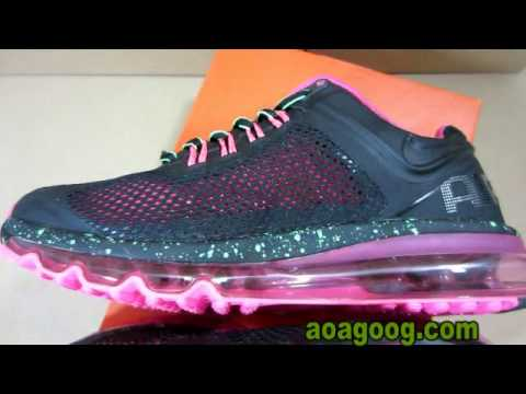Nike Air Max 2013 Women's Pink Black Silver