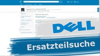 DELL Service-Tag Suche: Wie finde ich das benötigte DELL-Ersatzteil schnell und einfach [GER/EN]