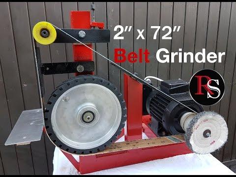 2x48 belt grinder build