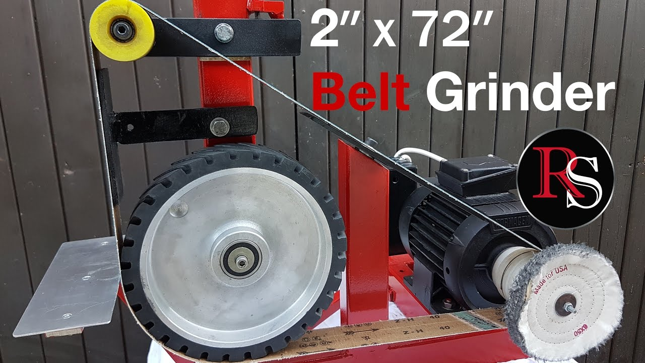 Diy Making A 2x72 Quot Belt Grinder With Buffing Wheel