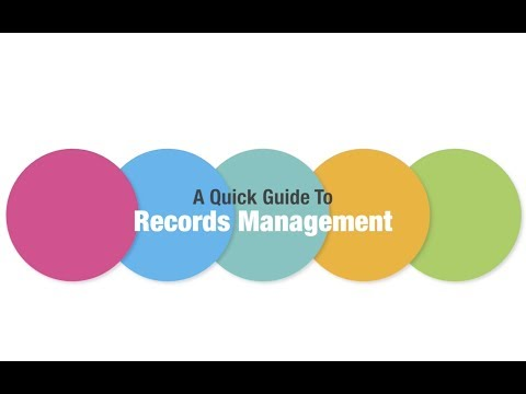 A Quick Guide to Records Management