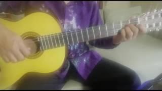 Walang Keke - Lagu daerah Jawa....Waldjinah  (Fingerstyle Cover)