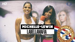 ARNOLD CLASSIC 2016 | MICHELLE LEWIN | con Marina Brass | Cuerpos Perfectos TV HD