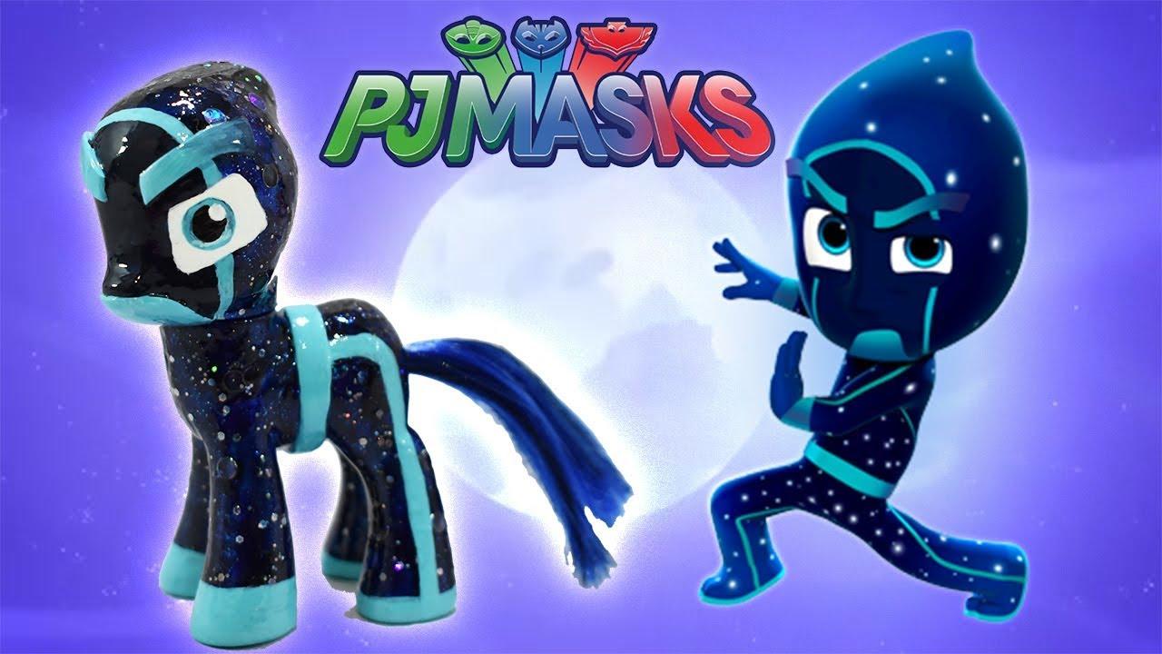 custom night ninja pony pj masks villain tutorial diy disney jr mlp
