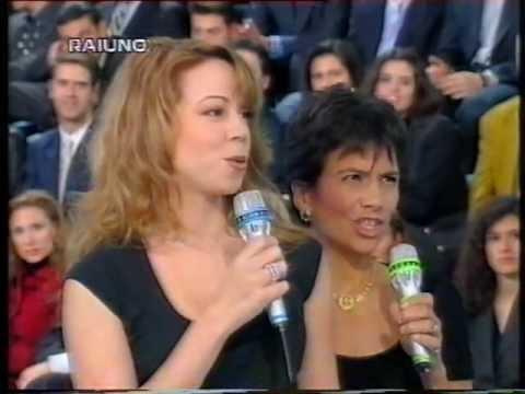 Mariah Carey - Open Arms (Live @  Numero Uno 1995) Italia