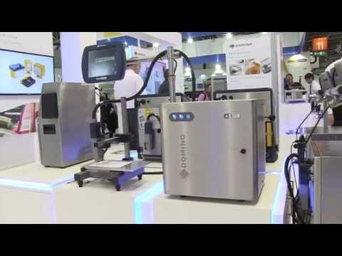 Domino A520i Continuous Inkjet Printer At Interpack 2014 Youtube